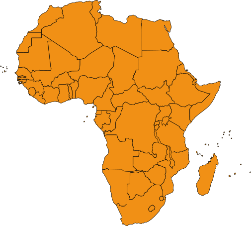 All Africa map